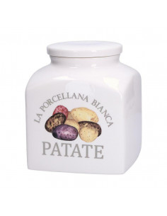 Conserva Barattolo Porcellana Deco 3,5Lt Patate