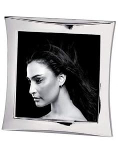 Portafoto In Metallo Lucido Cm. 10x10 A643
