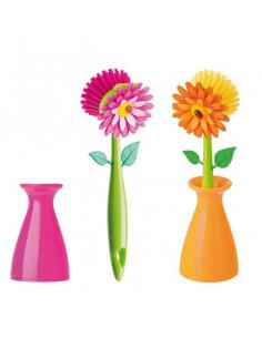 "Spazzolino Con Vasetto ""Flower Power"" - 1Pz"