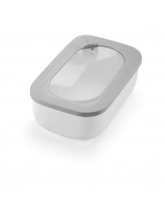 Store&more - Contenitore Ermetico Rettangolare Per Frigo/freezer/ Microonde Grigio Scuro