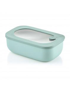Store&more - Contenitore Ermetico Rettangolare Per Frigo/freezer/ Microonde Verde Salvia