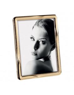 Portafoto In Metallo Cm. 13x18 Oro